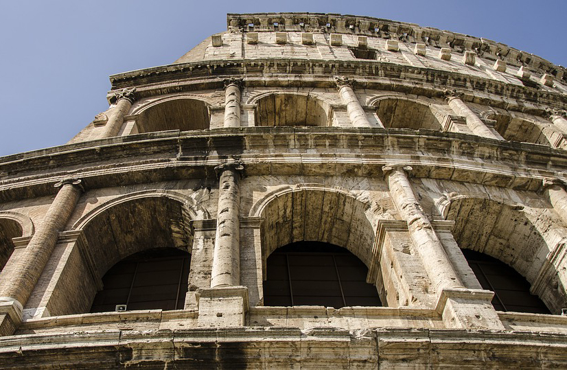 бетонные строения в древнем риме