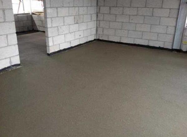 готовый пол из бетона
