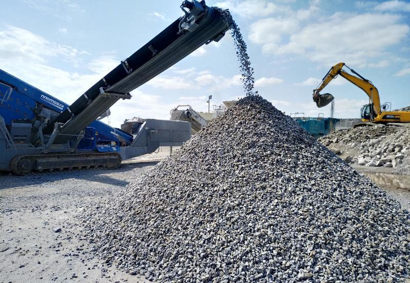 как перерабатывается бетон