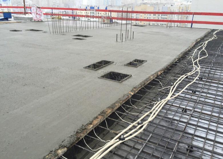 как прогревают бетон в зимнее время