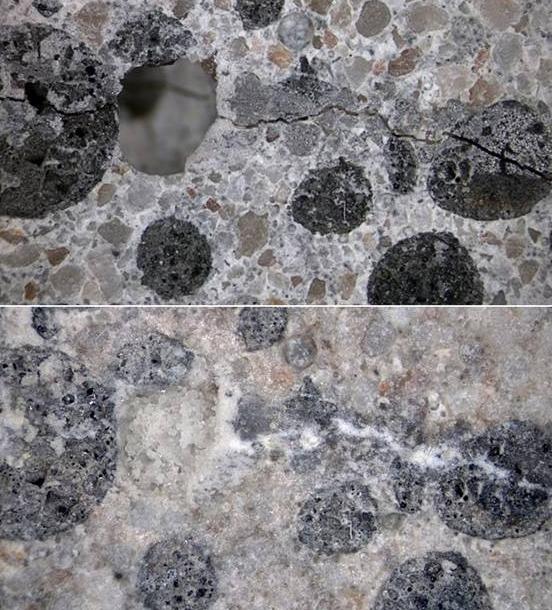 как работают бактерии по заполнению бетона