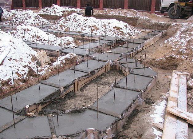 особенности бетонирования зимой