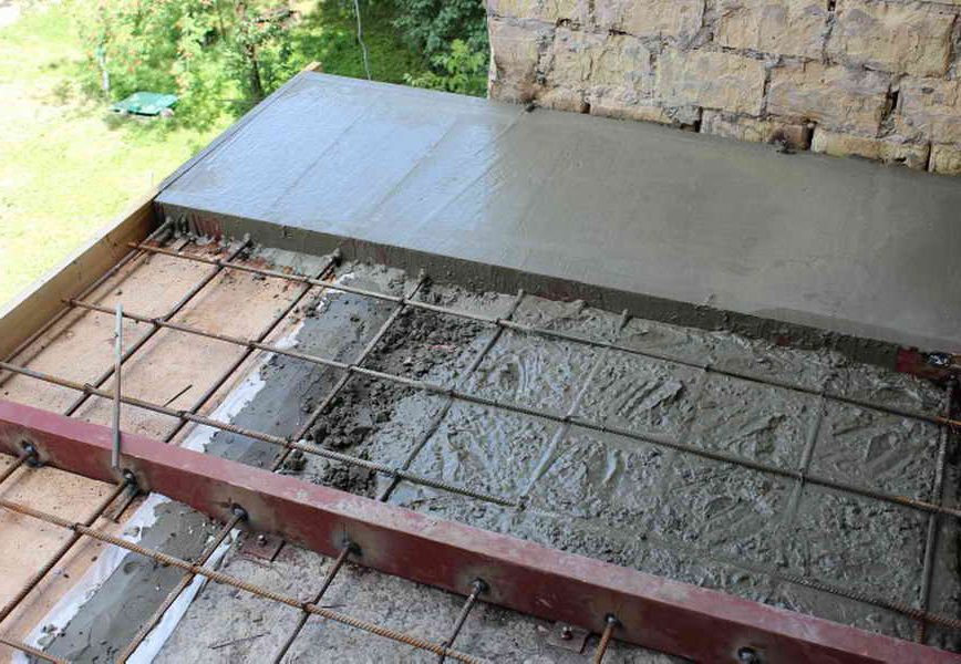 особенности заливки бетоном арматуры