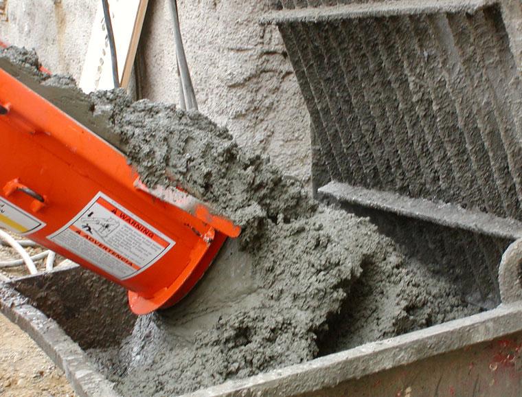 приготовление мелкозернистого бетона