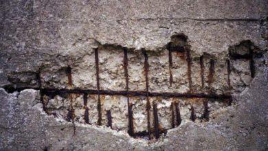 сульфатная коррозия бетона как выглядит