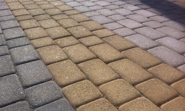 тротуарная плитки из мелкозернистого бетона
