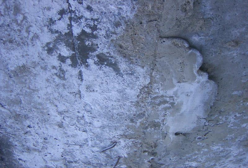 выщелачивание поверхности бетона