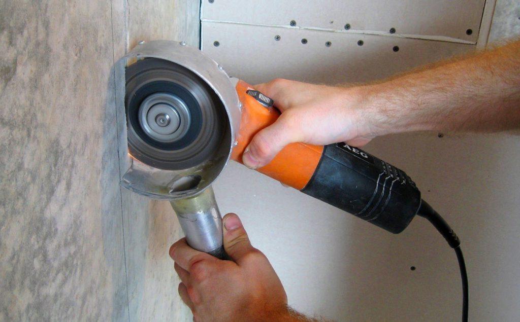 как правильно резать бетон без пыли