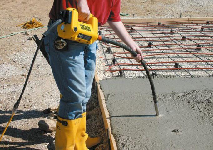 как правильно уплотнять бетон