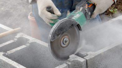 как резать бетон без появления пыли
