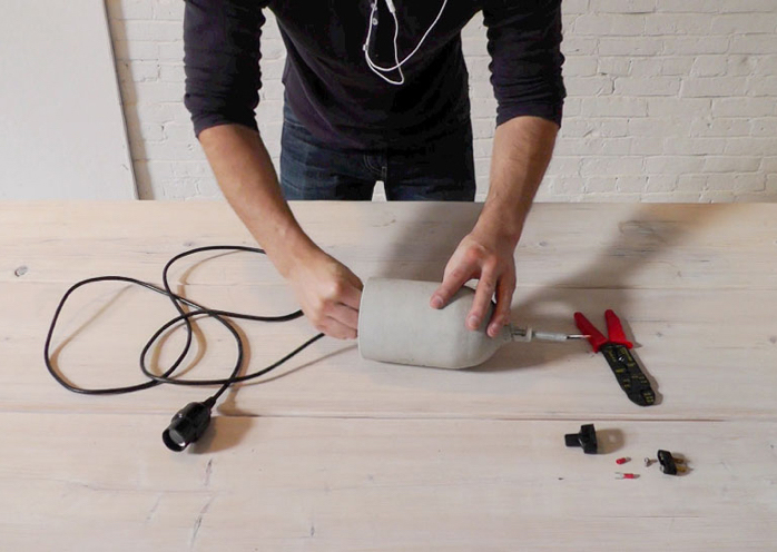 конструирование осветительного прибора