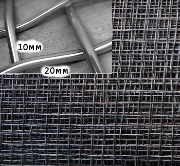 применение тканой сетки