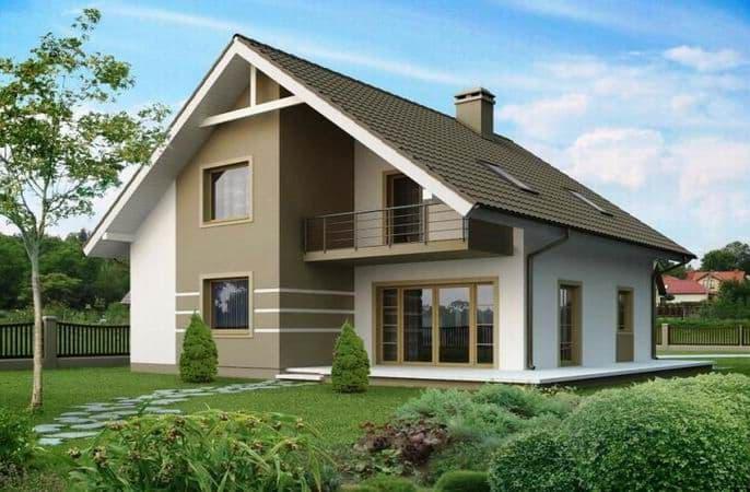 проекты домов из арболита
