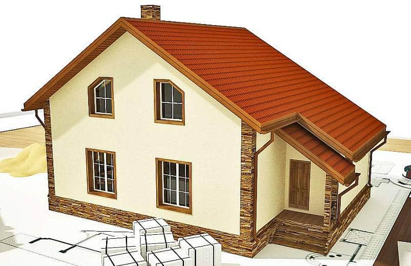 проекты и строительство домов из арболита