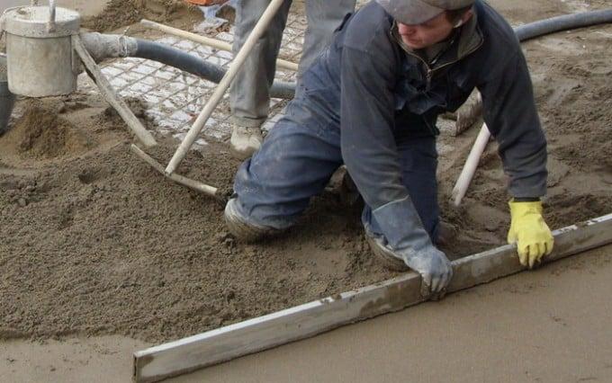 заливка бетонного пола промышленного назначения