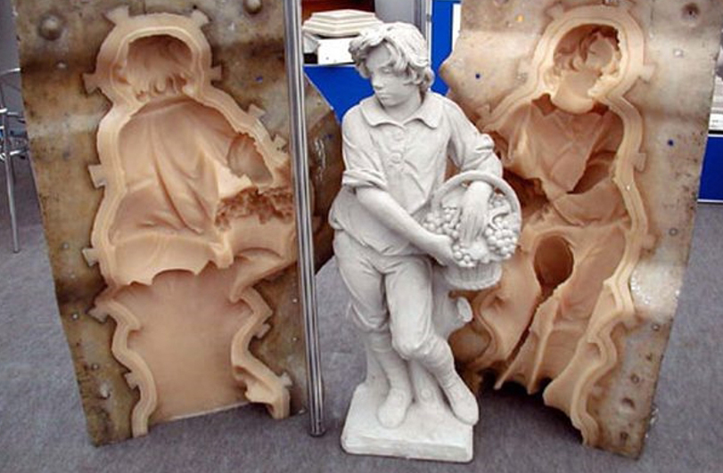 заливка бетонных скульптур в формы