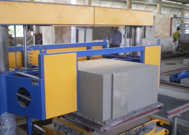 Оборудование для автоматизированного производства газобетона