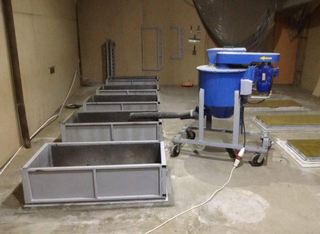 Оборудование для газобетонных блоков