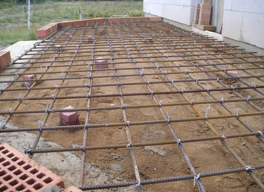 армирование бетона укрепление его