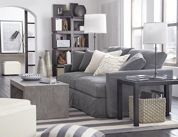 бетонная мебель в интерьере