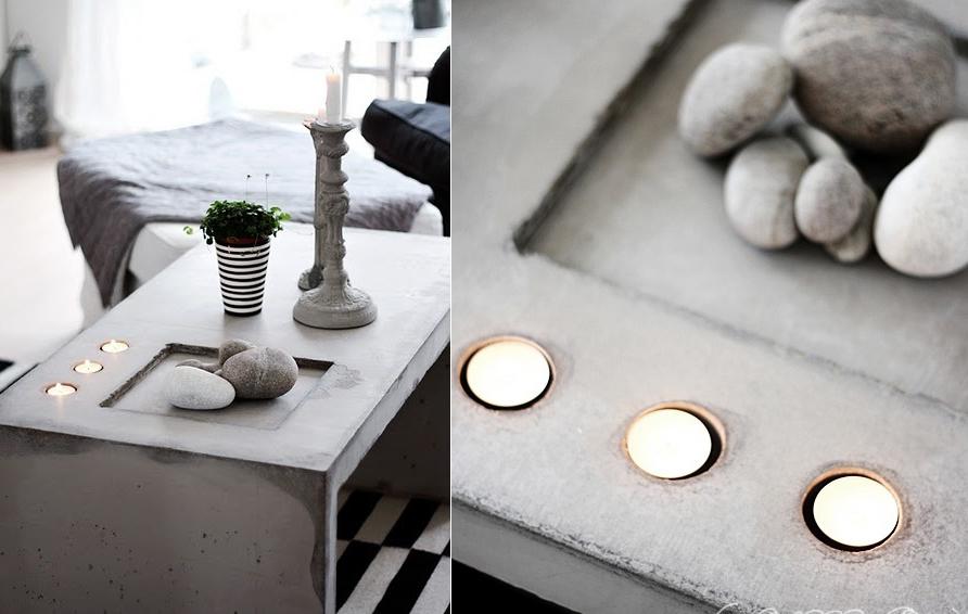 бетонный столик как сделать