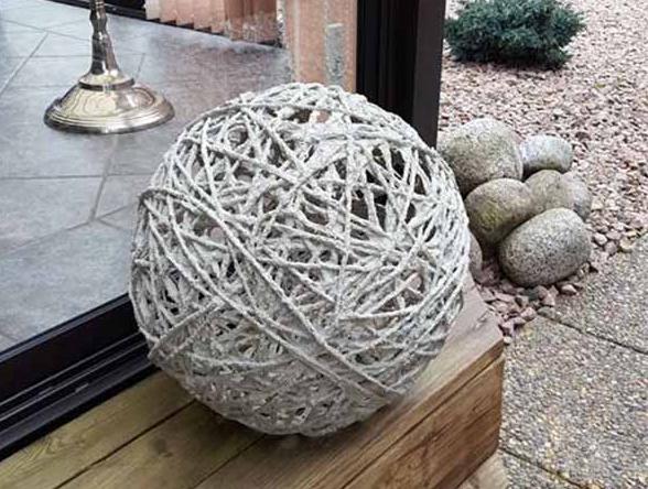 Шарики из бетона бетон студенческая