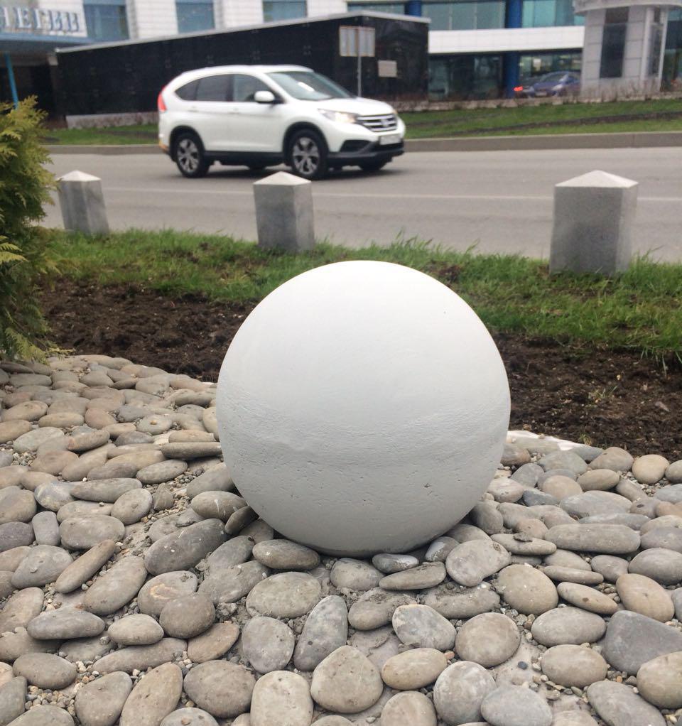 какими бывают бетонные шары
