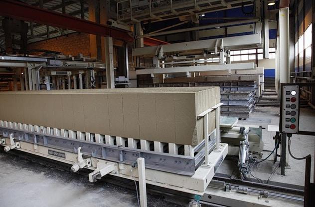 конвейерное производство газобетона