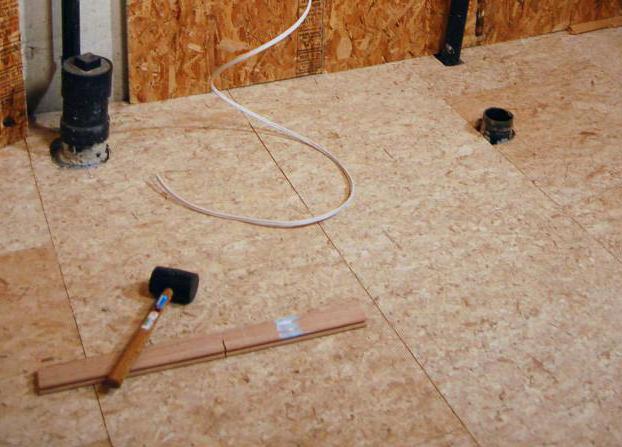 монтаж осб плит на бетон