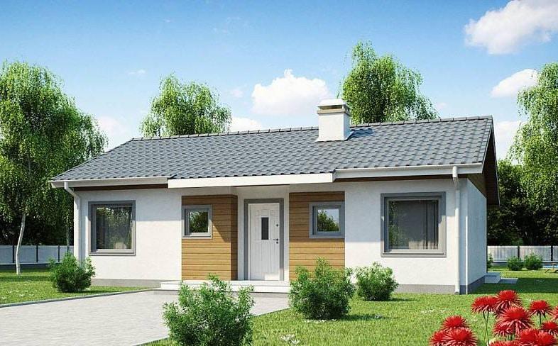 проекты домов из газобетона до 100 метров