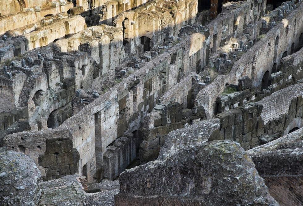 как и где использовали римский бетон