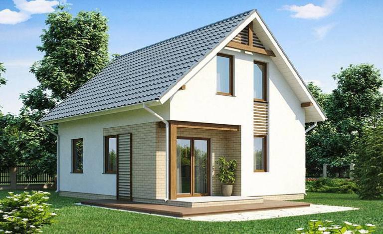строительство дома из газобетона 7 на 9