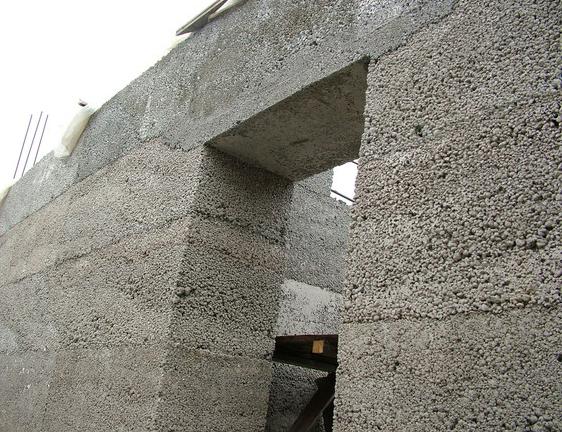 строительство из монолитного керамзитобетона