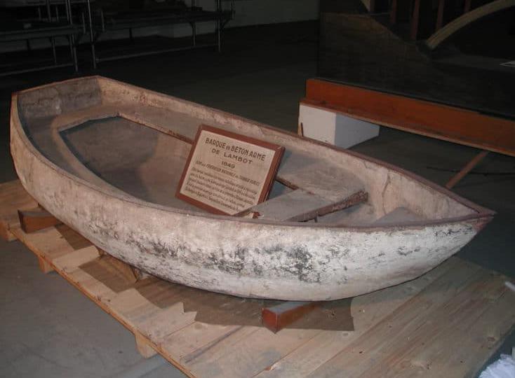 укрепление лодки армированием