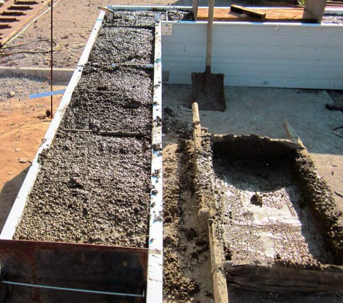 Заливные стены из керамзитобетона завод жби заказать бетон