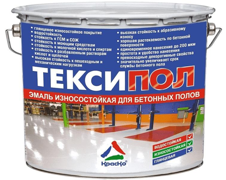 износостойкая эмаль для бетонных полов