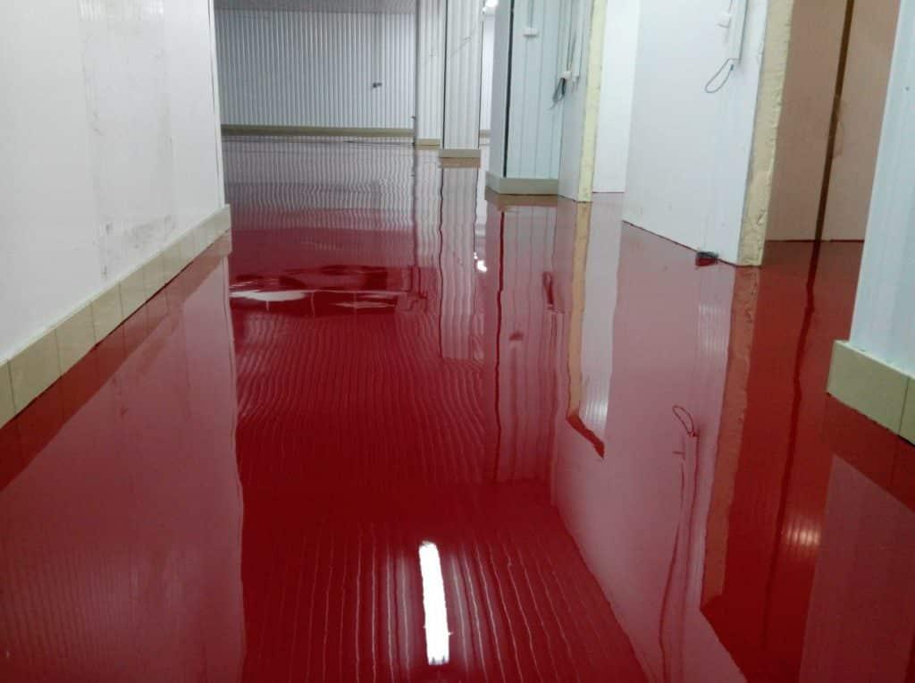 наливной пол из бетона