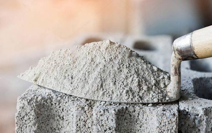 насыпная плотность цемента