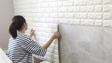 поклейка на бетон пластиковых панелей