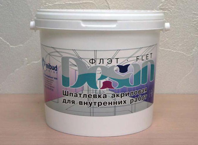 акриловая шпаклевка для бетонного пола