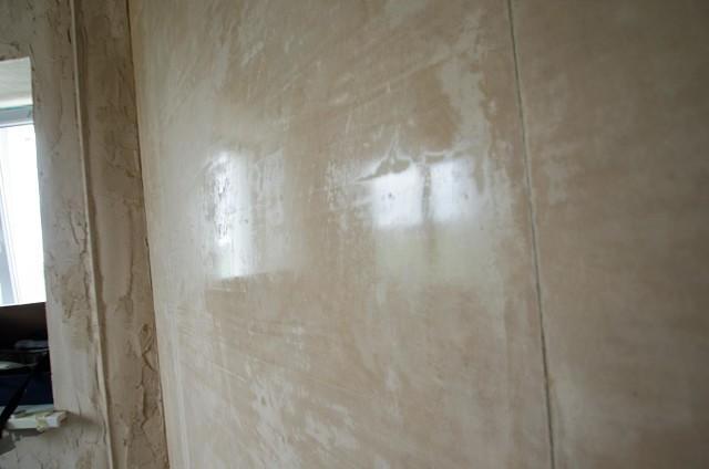 глянцевание бетона