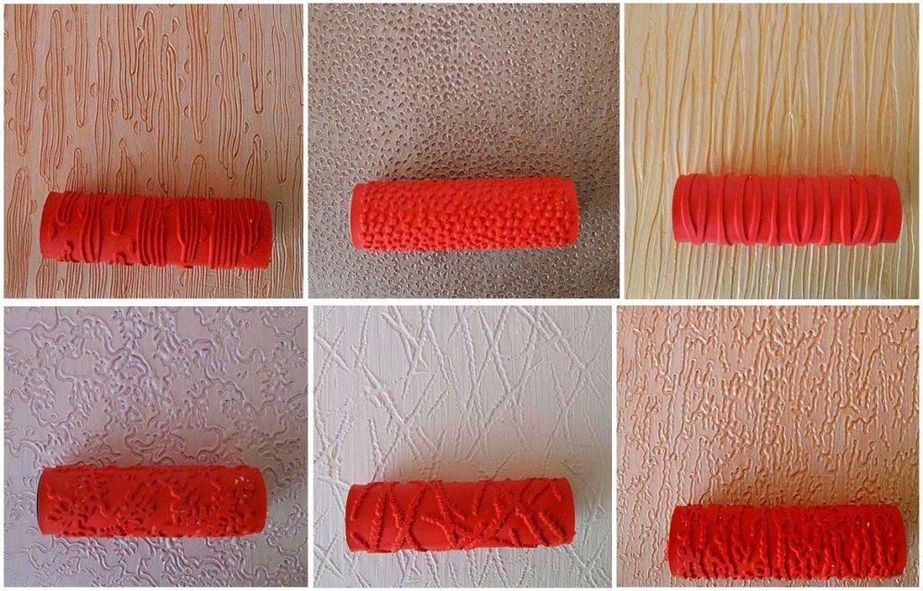 Как наносить декоративную штукатурку валиком