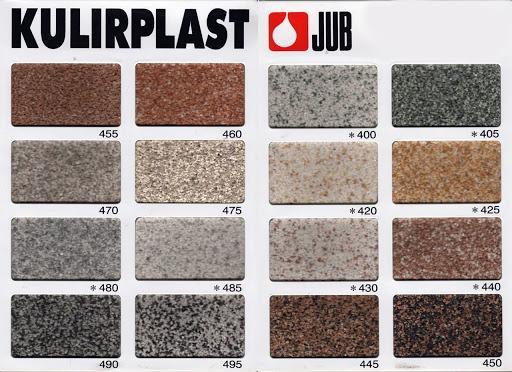 Мраморная акриловая штукатурка UB Jubizol Kulirplast
