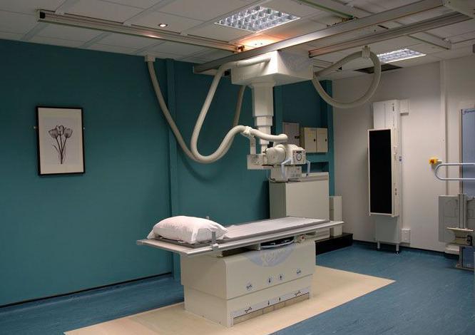 Сферы применения баритовой штукатурки - рентгенкабинет