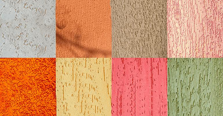 Виды и структура акриловых штукатурок для стен
