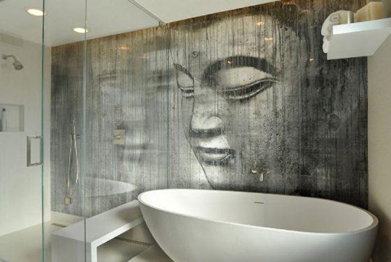 Декоративная штукатурка для отделки ванной