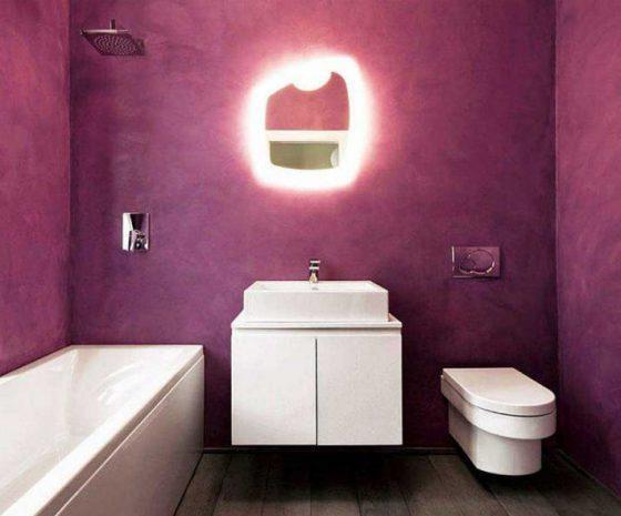 Декоративная штукатурка своими руками в туалете
