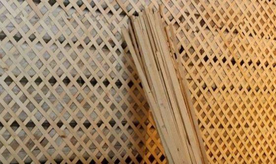 Дранка штукатурная из дерева