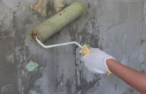 Как правильно грунтовать стену