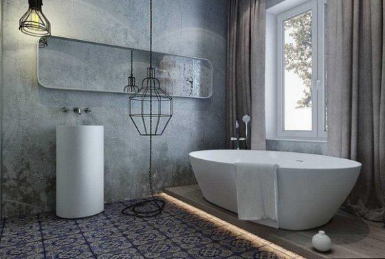 Отделка ванной комнаты влагостойкая